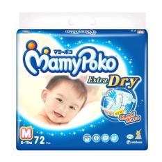 Jual Mamypoko Popok Tape Extra Dry M 72 Murah Indonesia