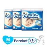 Review Terbaik Mamypoko Popok Tape Extra Dry M 72 Karton Isi 3