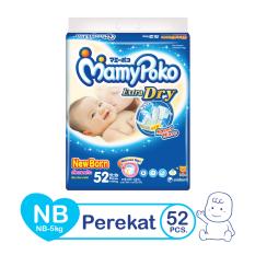Harga Mamypoko Popok Tape Extra Dry Nb 52 Terbaik