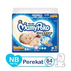 Promo Mamypoko Popok Tape Extra Dry Nb 84 Mamypoko Terbaru