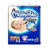 Spesifikasi Mamypoko Popok Tape Extra Dry New Born 52 Bagus