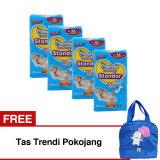 Jual Mamypoko Popok Tape Open Standar Nb S44 Karton Isi 4 Gratis Tas Trendi Pokojang Di Indonesia
