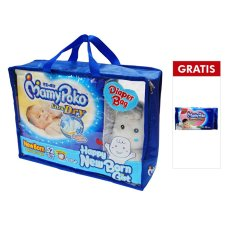 Spek Mamypoko Set Popok Newborn 52 Gratis Boneka Baby Wipes Non Perfumed 52 Mamypoko