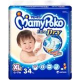 Spesifikasi Mamypoko Tape Extra Dry Xl 34 Online