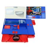 Toko Onlan Kotak Pensil Spiderman Super Hero Unik Import Biru Terlengkap Di Dki Jakarta