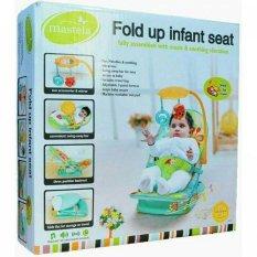 Mastela Fold Up Infant Seat (Kursi Santai) - Green