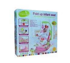 Mastela Fold Up Infant Seat (Kursi Santai) - Pink
