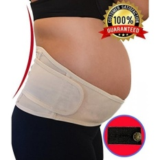 Maternity Belt for Lower Back, Pelvic, Hip, Abdomen, Sciatica Pain Relief Adjustable Pregnancy Support Brace Belly Band for 2nd 3rd Trimester Plus Pants/Jeans Waist Extender - intl
