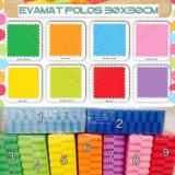 Toko Matras Tikar Karpet Puzzle Alas Lantai Evamat Evamats Polos 30X30 Termurah
