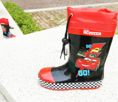 Mcqueen Sepatu Boots Hujan Karet Alam Mobil Sepatu Boots Hujan Anak