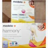 Harga Medela New Harmony Breast Pump Pompa Asi Manual Free Krim Anti Iritasi 30Pcs Pad Satu Set