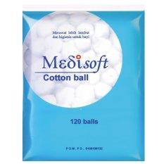 Diskon Besarmedisoft Cotton Balls Kapas Bola 12Packs