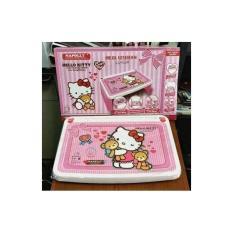 Meja Belajar Anak Lipat Napolly Karakter Hello Kitty Termurah - Opyqog