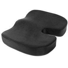 Spesifikasi Memory Foam Berbentuk U Pantat Indah Cushion Untuk Kursi Mobil Kantor Rumah Kursi Bawah Hitam Intl Murah