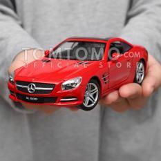 Mercedes-Benz SL Series Tomtomo Diecast Miniatur Mobil Mobilan Sport Kado Ultah Mainan Anak Cowok Laki Laki Aksesoris Interior Dashboard