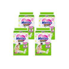 Jual Merries Popok Pants Good Skin M 50 1 Karton 4 Pak Satu Set