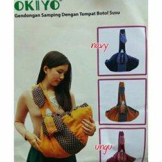 Mesh Okiyo Gendongan Bayi Samping Dengan Tempat Botol Susu - Okiyo Baby Carrier With Bottle By Mesh Store.