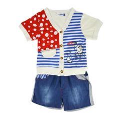 Mg Baby Kids V Neck T Shirt Celana Putih 12 Intl Terbaru