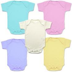 Spesifikasi Miabelle Bodysuit Set Pastel Color G*rl 5 Buah Yang Bagus