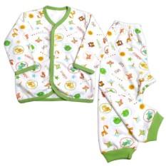 Miabelle Set Baju Panjang Kancing Depan + Celana FP01