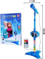 Harga Microphone Frozen Biru 8016A Kado Mainan Anak Mic Nyanyi Yang Murah Dan Bagus