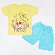 Miko Setelan Baju Anak Bayi Perempuan Baby Girl Cute POLKADOT Warna Warni Lucu