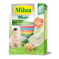 Milna Bubur Bayi  WGAIN 6 BL Ayam Bayam 120 G