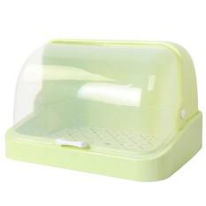 Pengelola blogng Pengelola blogng Botol Susu Alat Jahit Portable Anti Debu Ada Tutup Rak Piring Botol Susu Rak