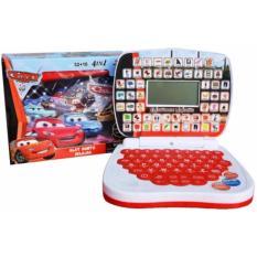 Diskon Mini Laptop Mainan Anak Edukasi 4 Bahasa Kararkter Cars Universal Indonesia