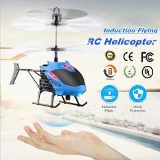 Mini mainan Remote Control helikopter Radio Control tangan induksi terbang pesawat listrik mikro Quadcopters hadiah untuk anak-anak