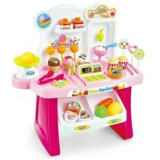 Mini Market Play Set / Kado Anak Perempuan Minimarket Playset - Em1nvu