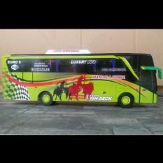 Miniatur Bus Mandala Putra Jetbus SHD