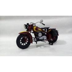 Miniatur Diecast Motor Moge Klasik Harley Indian Chief Harga Murah