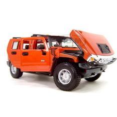 Harga Miniatur Hummer H2 2003 Orange Maisto Skala 18 Scriptls Ori