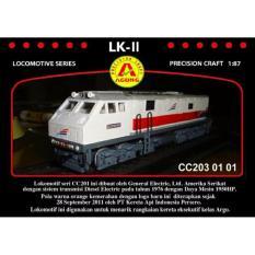 Spesifikasi Miniatur Kereta Api Lk 11 Cc203 Dan Harga