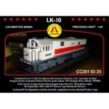 Miniatur Kereta Api Lokomotif Lk 10 Cc 201 83 25 Asli
