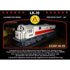 Spesifikasi Miniatur Kereta Api Lokomotif Lk 10 Cc 201 83 25 Yang Bagus Dan Murah