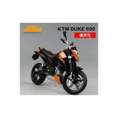 Miniatur Motor Sport KTM 690 DUKE Diecast Maisto Balap Murah Original