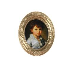 Miniatur Rumah Boneka Framed Dinding Lukisan Aksesoris Rumah Boneka Grosir-Internasional