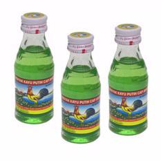 Delin Store - Minyak Kayu Putih Cap Ayam Khas Medan 12ml 3 Botol