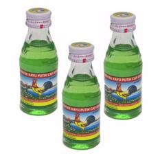 Delin Store - Minyak Kayu Putih Cap Ayam Khas Medan 25ml 3 Botol