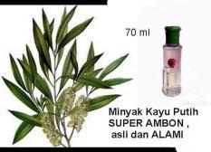 Minyak Kayu Putih Cap SUPER AMBON 70Ml ORIGINAL