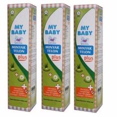Minyak Telon My Baby 90 ml - Isi 3 Botol