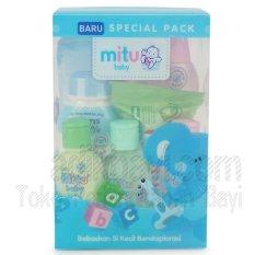 Beli Mitu Baby Special Pack Biru Mtb010 Mitu Murah