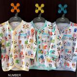 Jual Miyo 3Pcs Baju Lengan Panjang Motif S M L Ii Branded Original