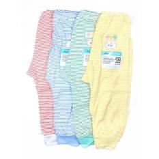 Jual Beli Miyo 4 Pcs Celana Panjang Salur Newborn 3 6M S M L Dki Jakarta