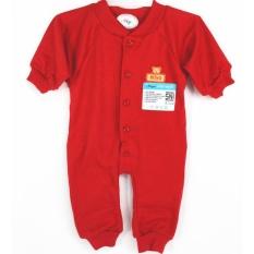 Miyo Jumper Lengan Panjang Merah - Newborn