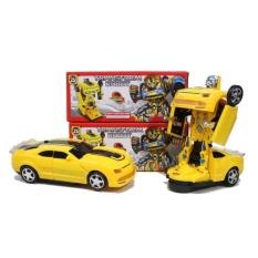 Harga Mobil Jadi Robot Karakter Mobil Camaro Suara Dan Lampu Yang Murah Dan Bagus