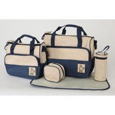 model tas bayi terbaru tas bayi multifungsi model tas baby keperluan bayi model tas untuk perlengkapan bayi tas balita tas bayi terbaru tas buat perlengkapan bayi  Tas Bayi Navy 5 IN 1