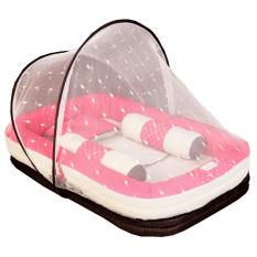 Jual Mom S Baby Kasur Bayi 3 Fungsi Sofa Kelambu Lullaby Series Mbk 4008 Mom S Baby Grosir